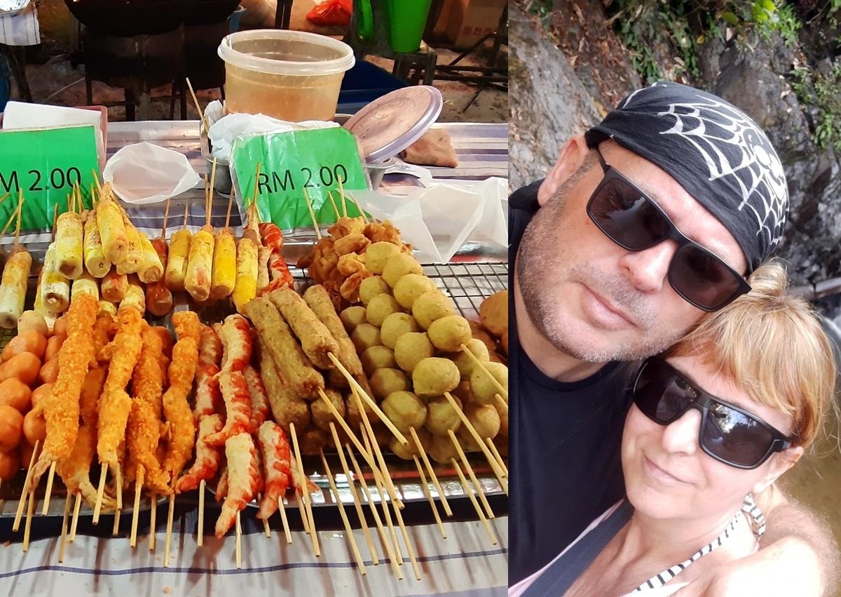 Ako vyzerá Street food v Malajzii? Aj omáčku tu dostanete do plastových sáčkov