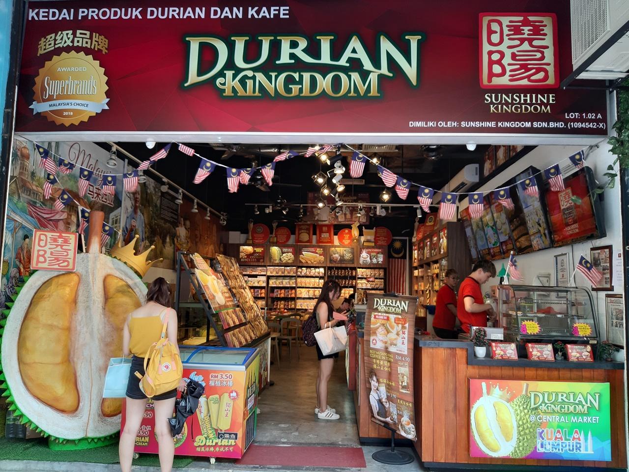 street food malajzia - dva batohy