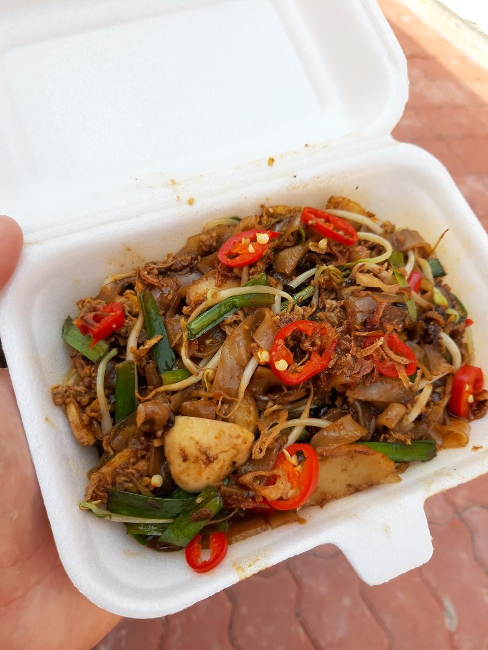 pikantné jedlo pad thai